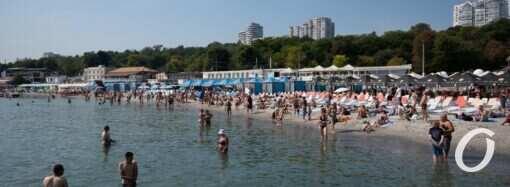 Температура моря в Одессе 16 сентября: еще не остыло