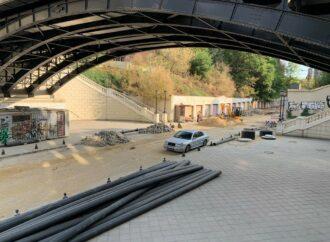 Капремонт одесского Деволановского спуска: что уже сделано и когда грядет окончание работ? (видео), (фото)