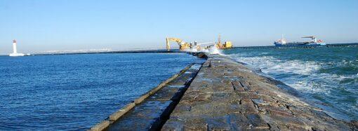 В Одесском порту создадут «постель» для Рейдового мола