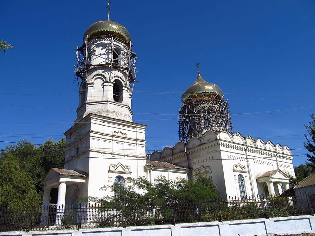 Суворово. Церковь Константина и Елены