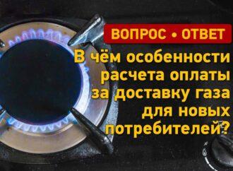 Абонплата за газ: в чём особенности расчета для новых потребителей?
