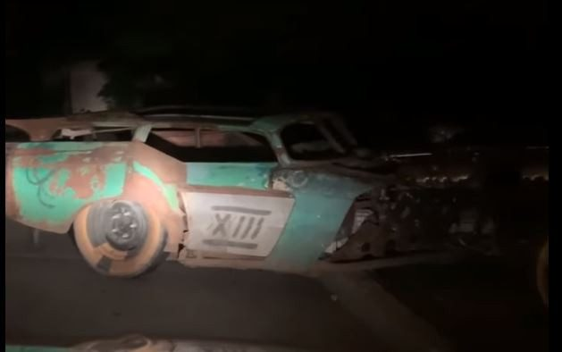 В Одессе «зубастый автомонстр» атаковал подъезд дома на Черемушках