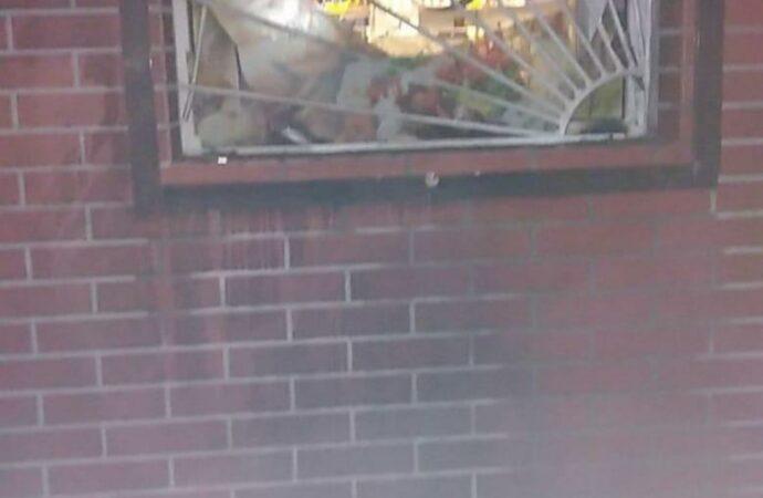 В Одесской области магазин забросали бутылками с зажигательной смесью