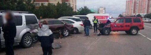 В Одесской области «маменькин сынок» разбил 6 автомобилей