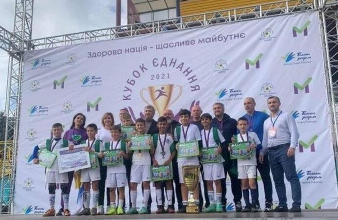 Юные одесские футболисты стали победителями Всеукраинского турнира «Кубок єднання — 2021»