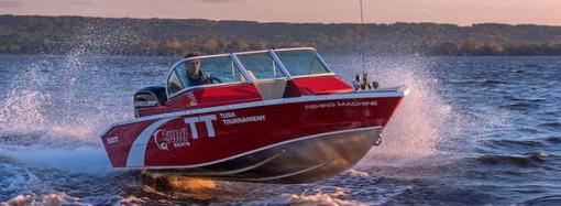 Производство алюминиевых лодок Tuna