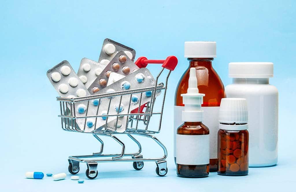 лекарства тележка