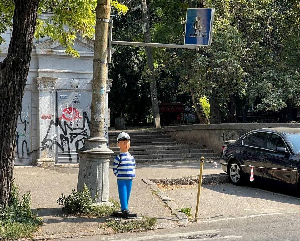 """пластиковый """"янукович""""3"""