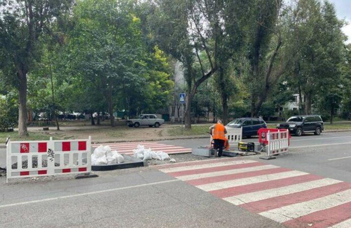 Где в Одессе появятся безопасные пешеходные переходы