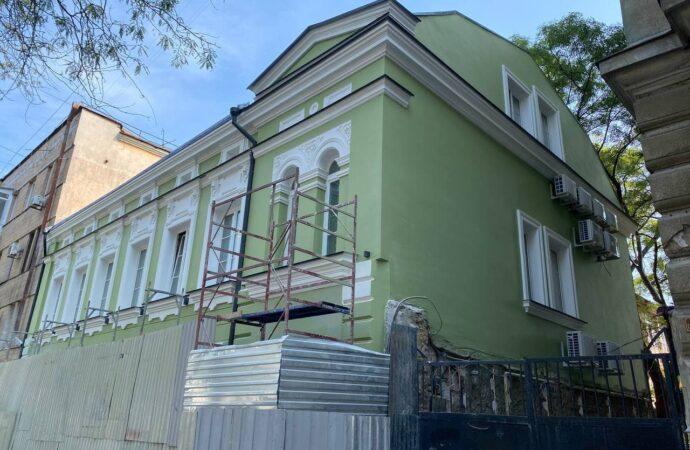 В Одессе заканчивают ремонт дома, в котором жил изобретатель киноаппарата