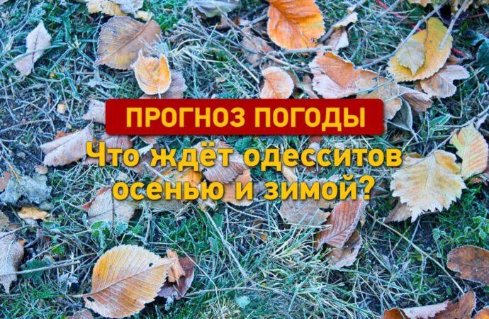 Какой будет погода в Одессе осенью и зимой?