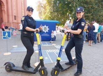 Одесских полицейских могут пересадить на самокаты