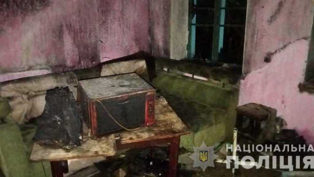 подростки сожгли дом в Одесской области2
