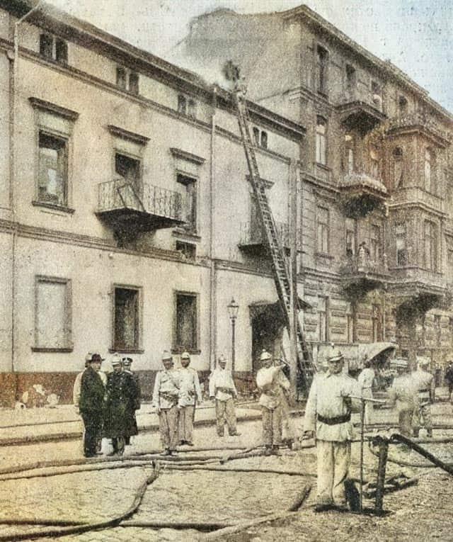 пожар Русский театр