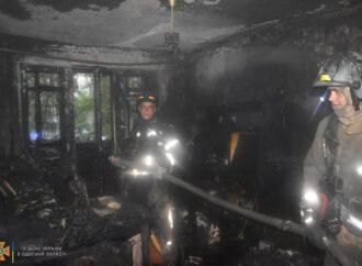 Одесские спасатели не дали сгореть квартире на Черемушках