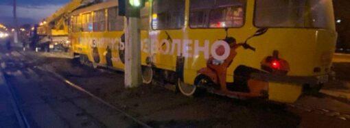 Трагедия на Балковской: трамвай сбил насмерть пожилую одесситку