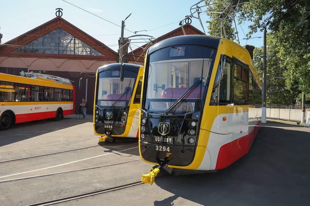 трамвай Одиссей Одесса