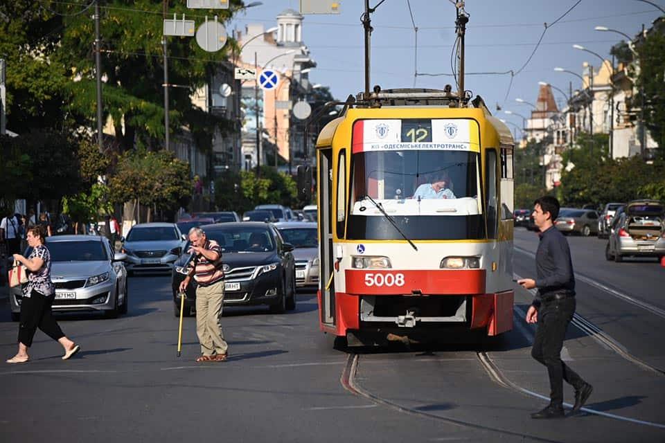 трамвай Одесса