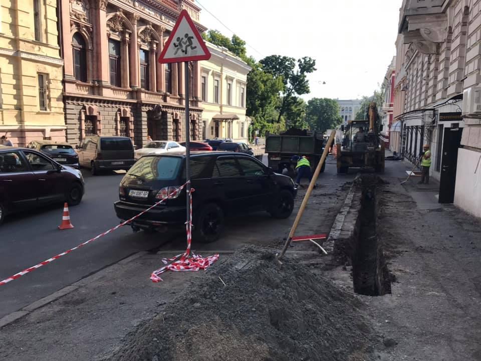 центр Одессы перерыли6