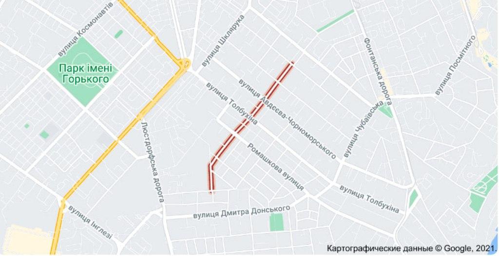 улица Жаботинского