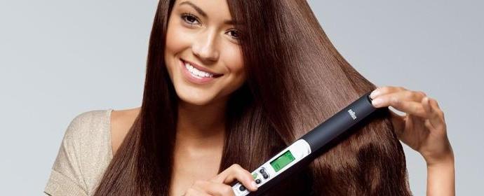 Выбор и применение утюжков для волос