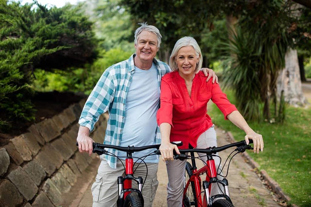 велосипед пожилой