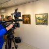 В одесском Горсаду открылась выставка коллекции картин известного музыканта Юрия Кузнецова (фото)