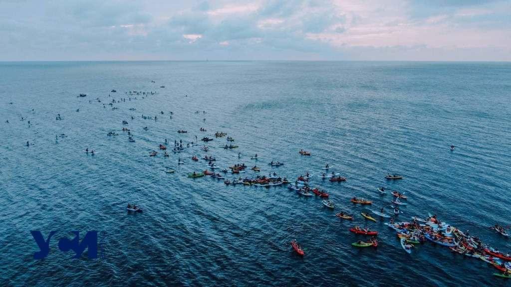 массовый заплыв на каяках в День города4
