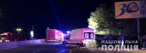 В полиции сообщили подробности смертельного ДТП с маршруткой на Киевской трассе