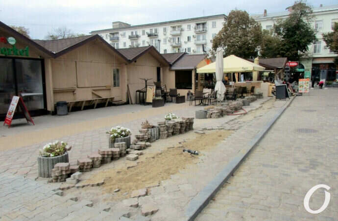 В Красном переулке рядом с «Одесской ярмаркой» – снова большие хлопоты (фото)