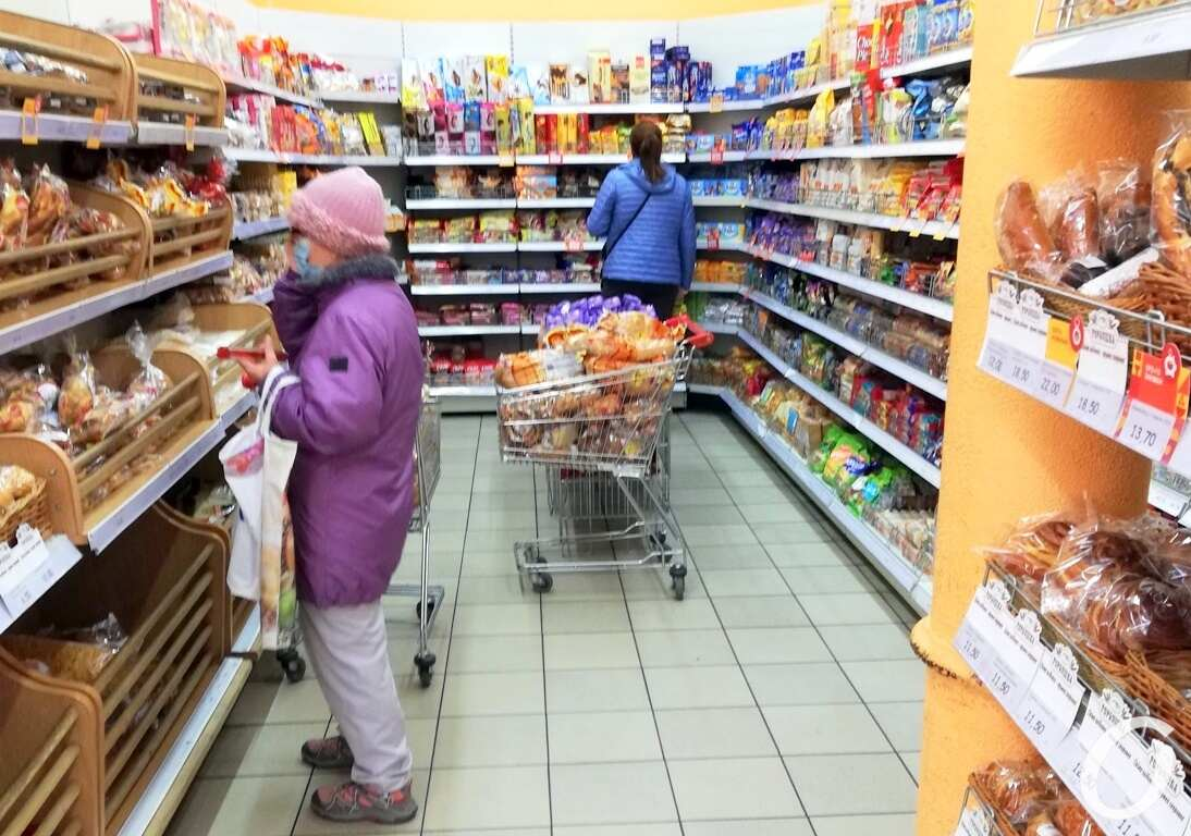 Супермаркет, октябрь2
