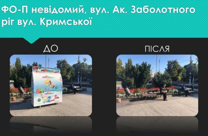 В Одессе снесли торговые будки и прогнали с улиц торговцев овощами