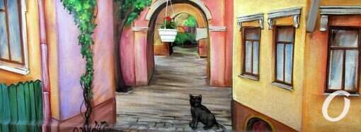 Попробуй сосчитай: кошачьи образы одесских настенно-наворотных «полотен»