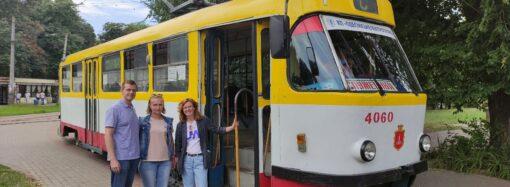 В одесских трамваях будут рассказывать об истории города