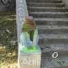 На одесском Военном спуске обезглавили скульптуру кота-сфинкса