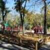 Обновленный одесский Алексеевский сквер может похвастаться двумя новыми детскими площадками