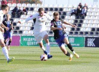 «Черноморец» — «Колос»: хорошо играли, но не забивали