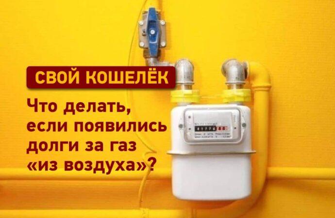 Свой кошелек: что делать, если появились долги за газ «из воздуха»?