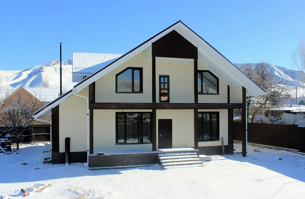 дом из СИП панелей