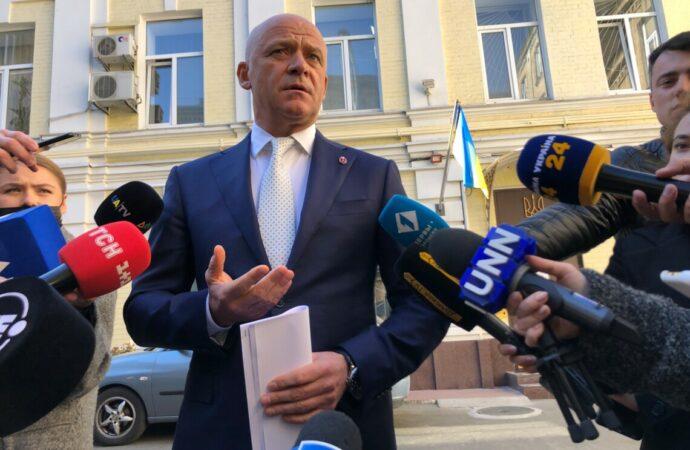 Суд избрал меру пресечения мэру Одессы Геннадию Труханову