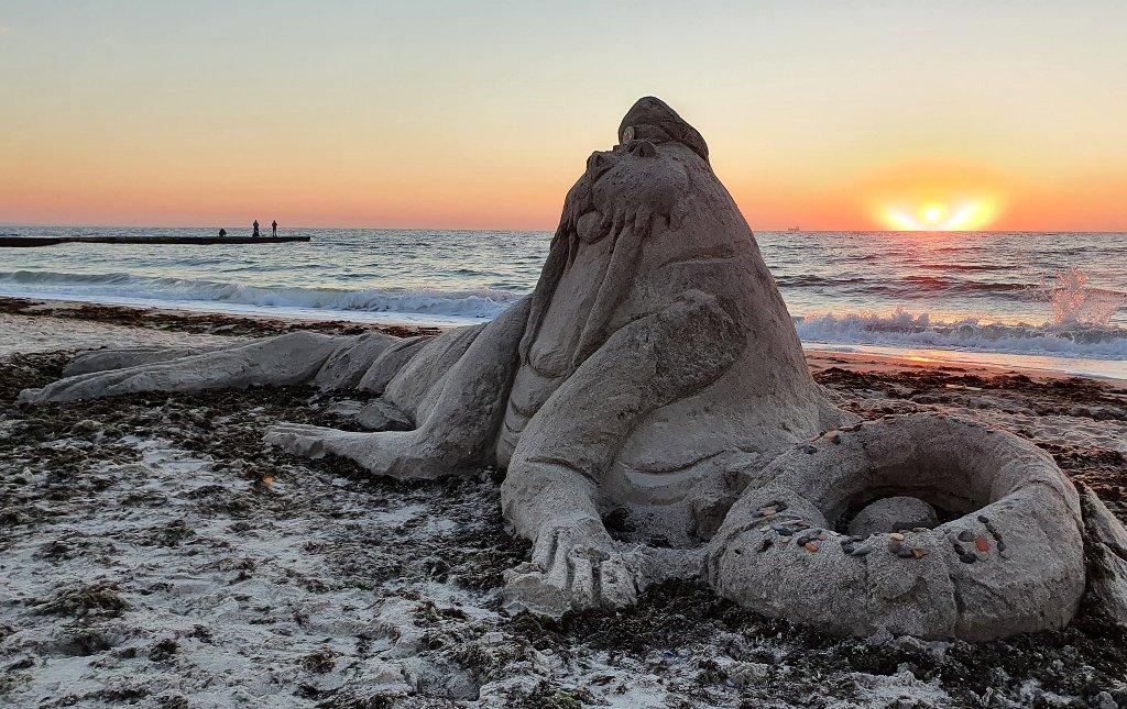 Песочный морж5