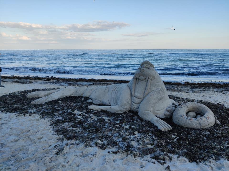 Песочный морж2