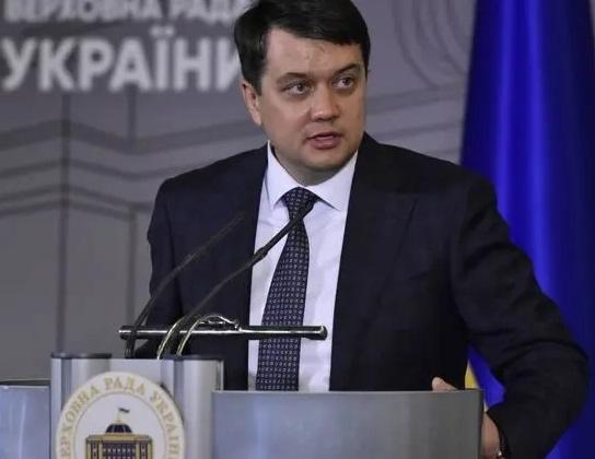 Рада отправила спикера Разумкова в отставку