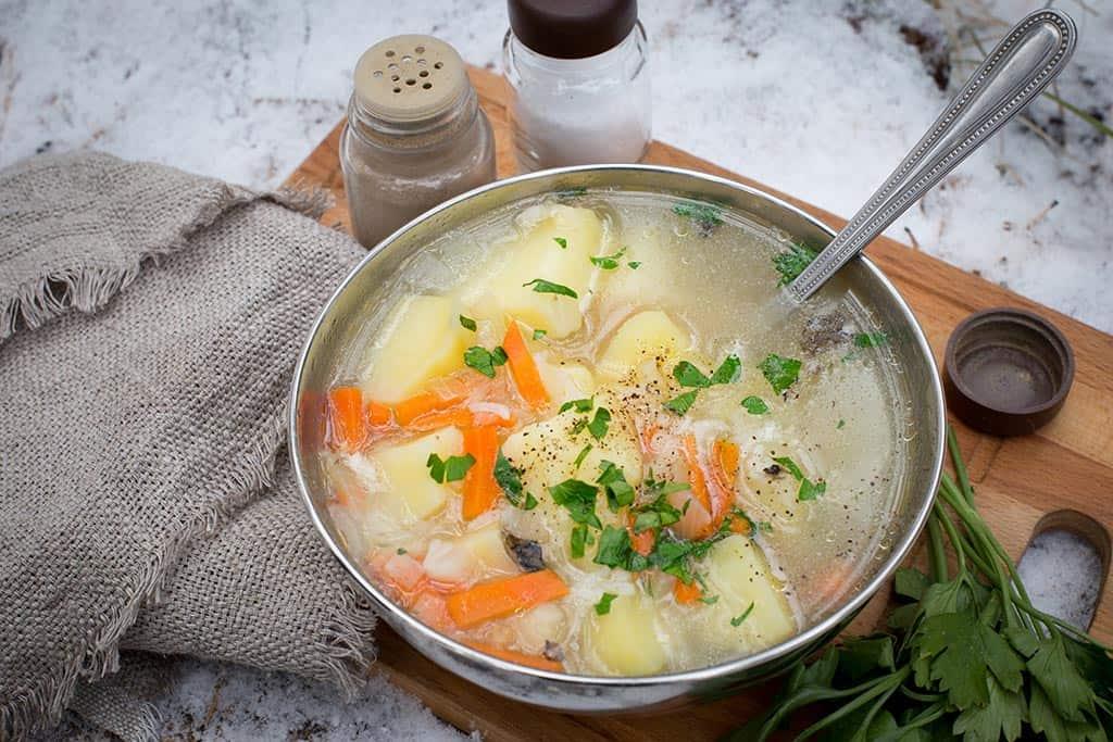 овощи суп диета