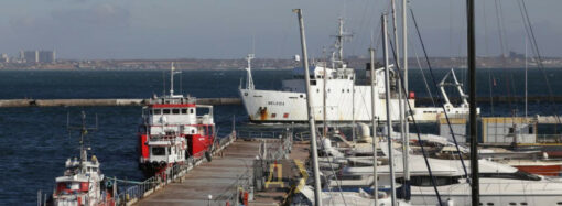 В порт Одессы зашло научное судно Belgica — это подарок Украине от Бельгии