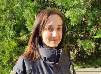 В Одессе следователь полиции спасла человека