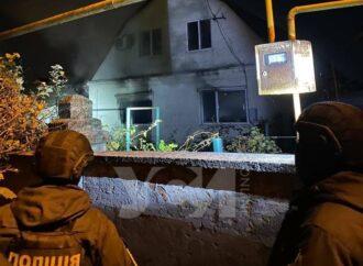Под Одессой мужчина поджег свой дом и подорвал себя гранатой