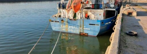 Выпал за борт и пропал: в порту Рени ищут боцмана сухогруза (фото)