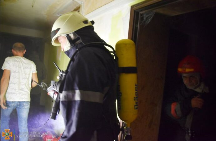 В Одессе горело общежитие политеха (фото)