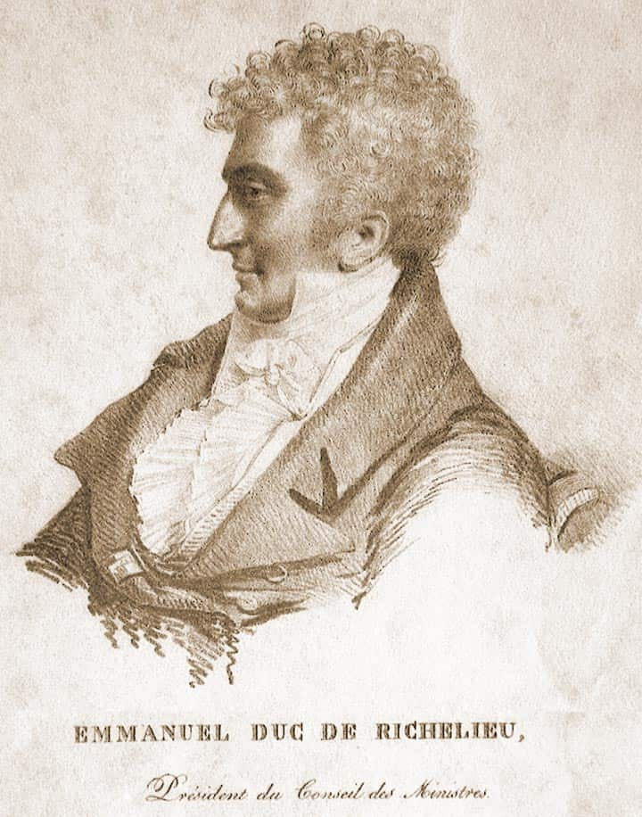 рисунок Ришелье